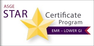 Lower GI EMR STAR Certificate Program